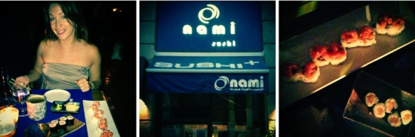 Milaan, GirlsLove2Travel, Sushi, Nami