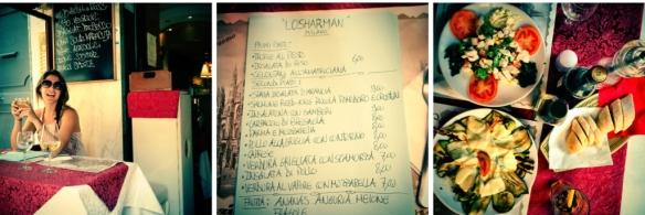 LoSharman, Lunch, Milano, Milaan,