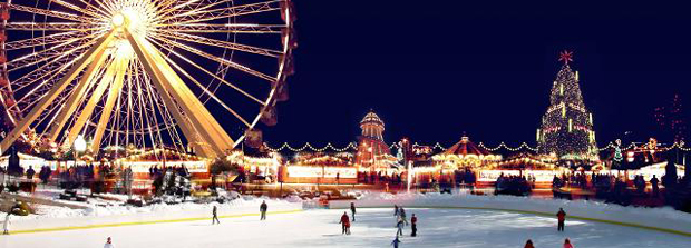 londen winter wonderland hyde park