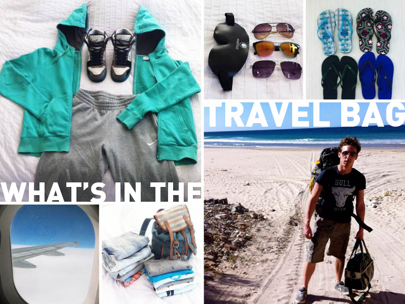 What's in the travel bag of… Camiel