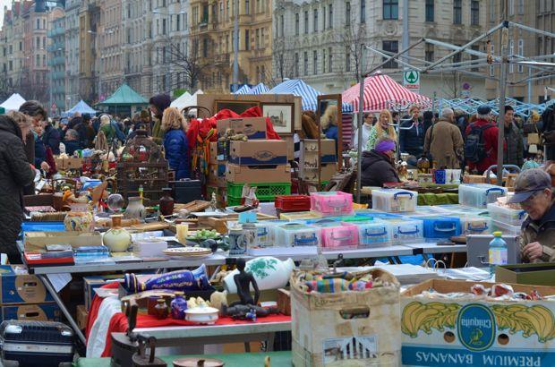 naschmarkt vlooienmarkt weekend