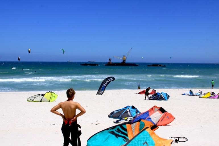 Kiten in Zuid Afrika2