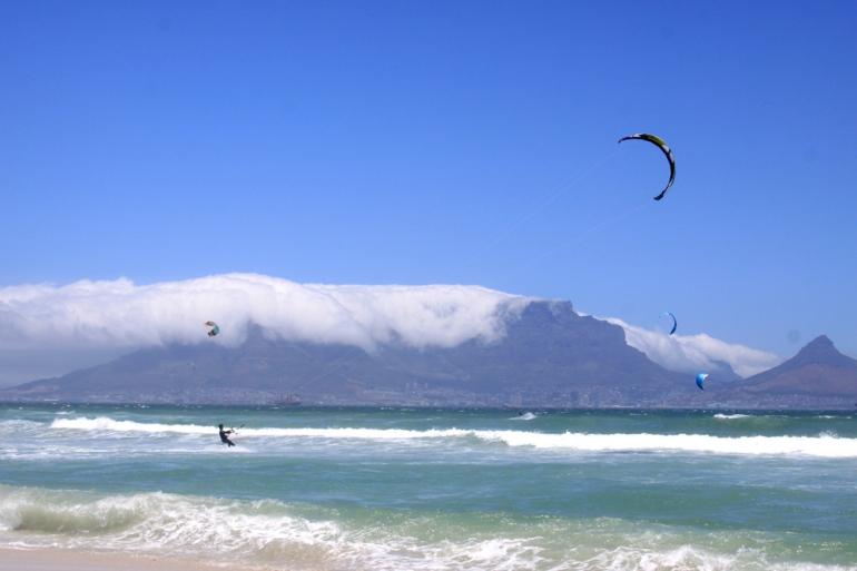 Kiten in Zuid Afrika