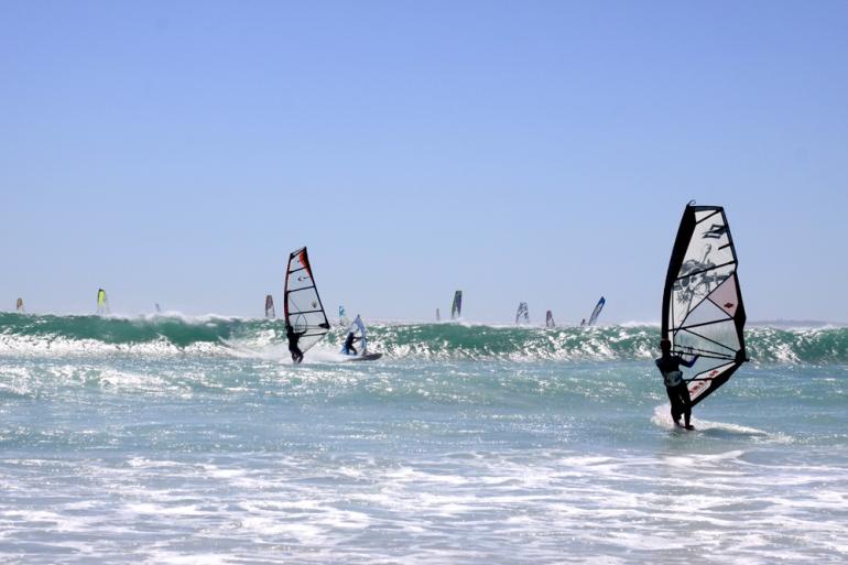 Windsurfen in Zuid Afrika