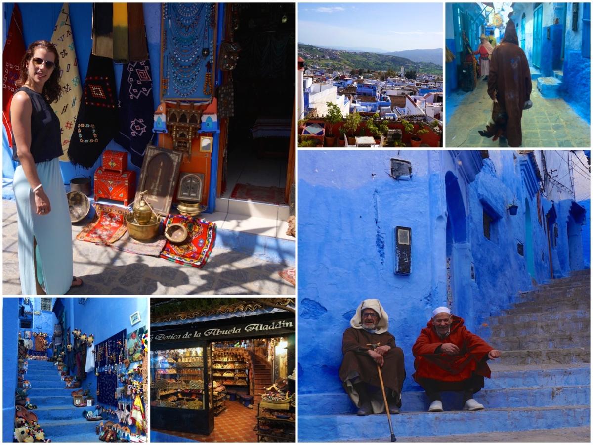 De magische blue city Chefchaouen