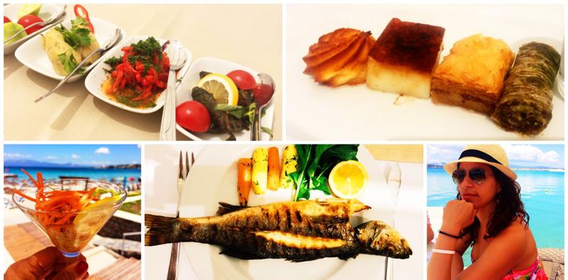 Alacati food