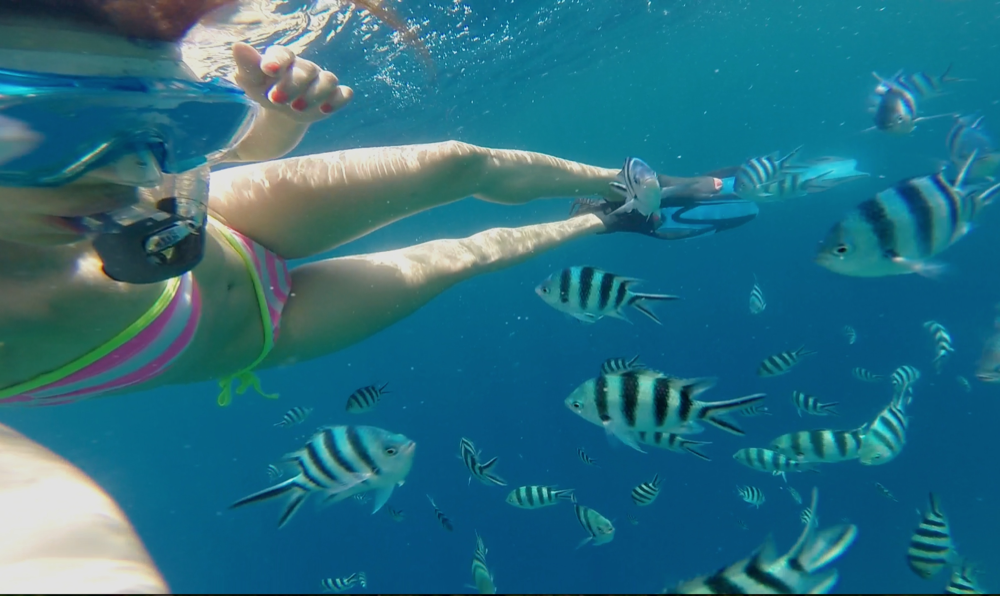 GirlsLove2Travel El Nido snorkling1