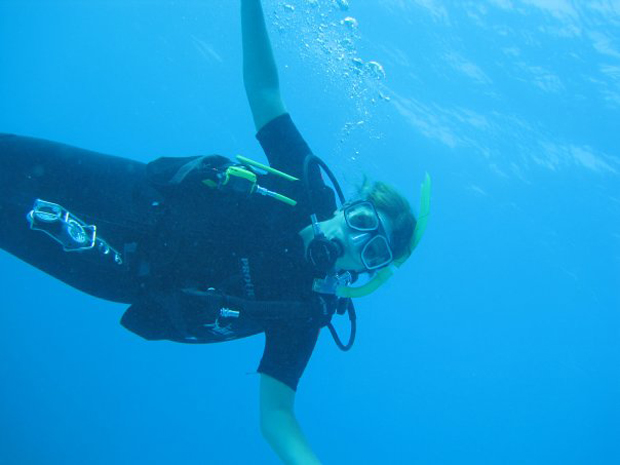diep in de zee foto 2